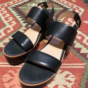 TOPSHOP Platform Sandal Sz 9